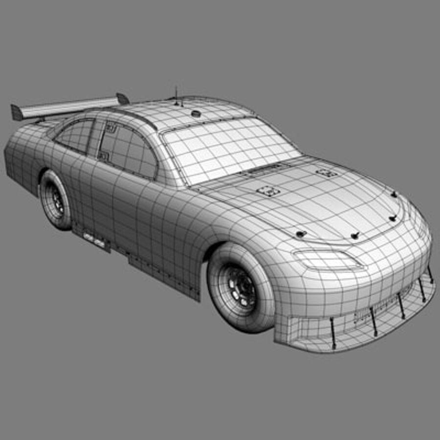 Nascar COT Stock Car - Denny Hamlin Camry royalty-free modelo 3d - Preview no. 17