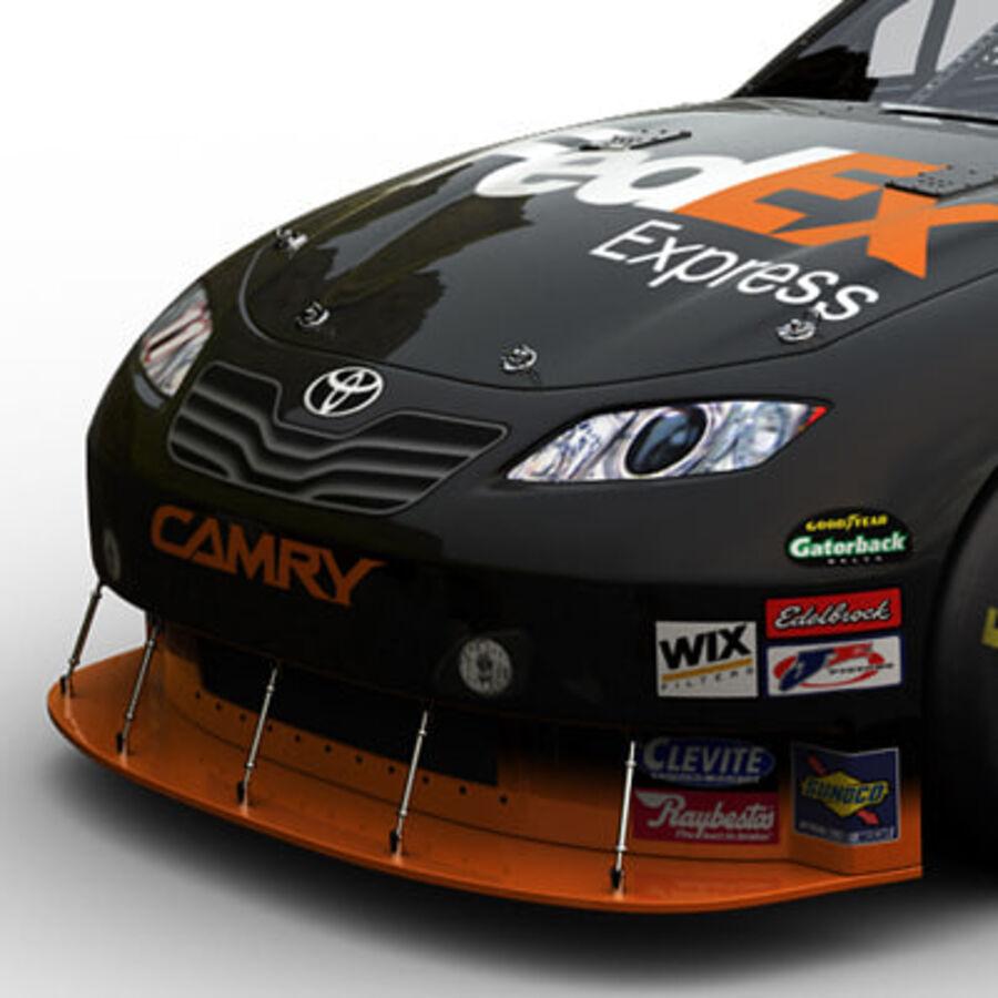 Nascar COT Stock Car - Denny Hamlin Camry royalty-free modelo 3d - Preview no. 4