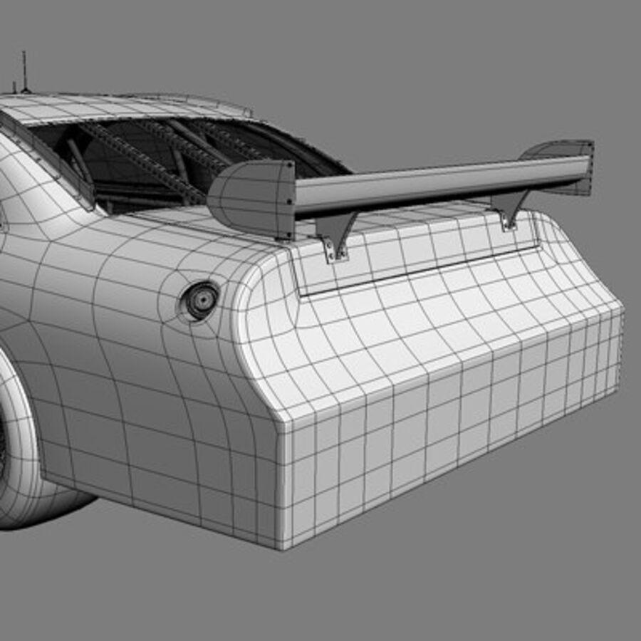 Nascar COT Stock Car - Denny Hamlin Camry royalty-free modelo 3d - Preview no. 22