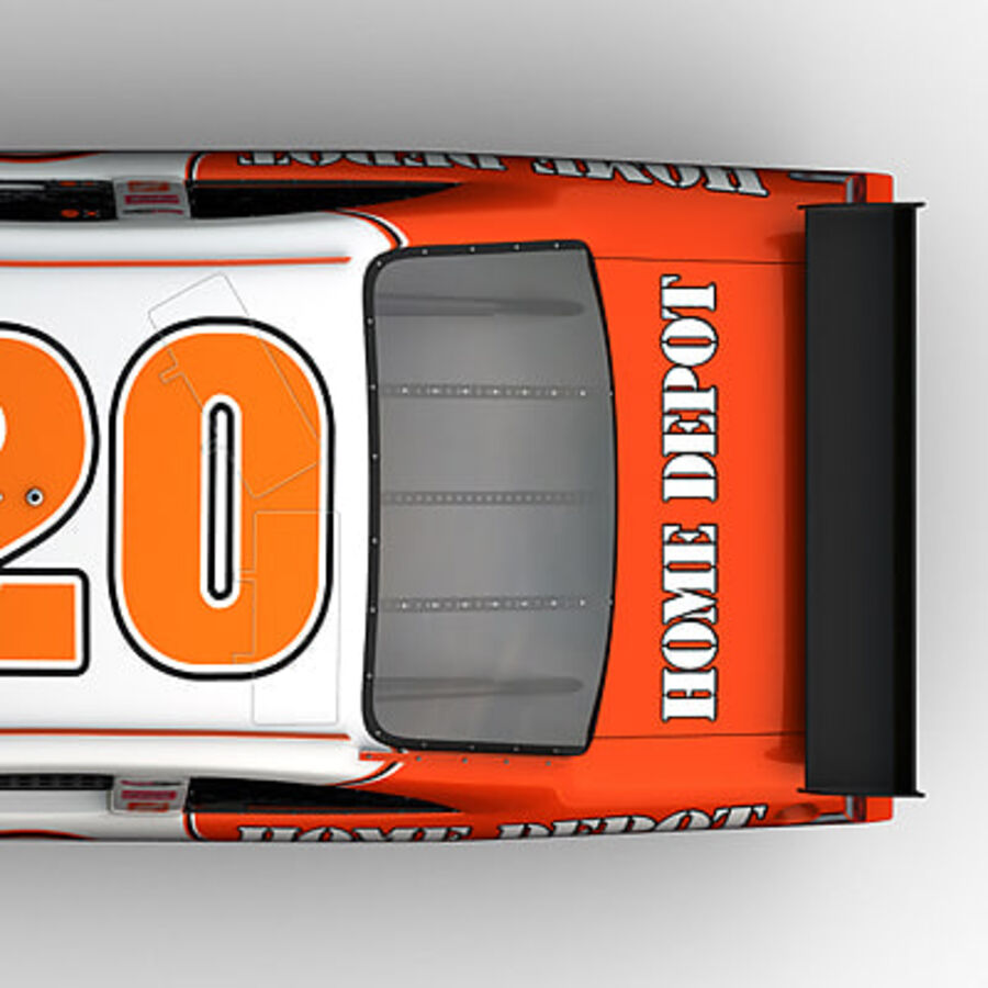 Nascar COT Stock Car - Joey Logano Camry royalty-free modelo 3d - Preview no. 15