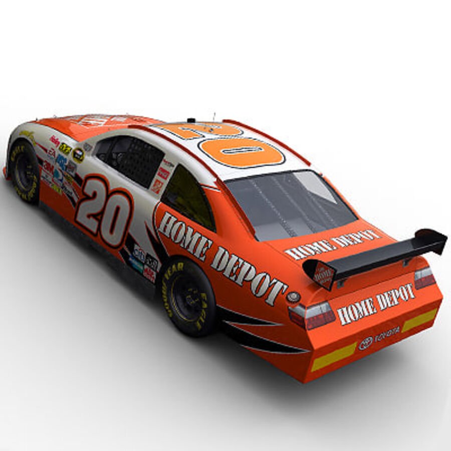 Nascar COT Stock Car - Joey Logano Camry royalty-free modelo 3d - Preview no. 6
