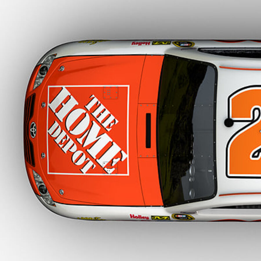 Nascar COT Stock Car - Joey Logano Camry royalty-free modelo 3d - Preview no. 14