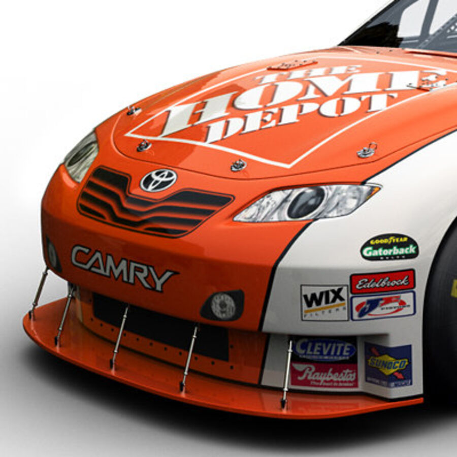 Nascar COT Stock Car - Joey Logano Camry royalty-free modelo 3d - Preview no. 3