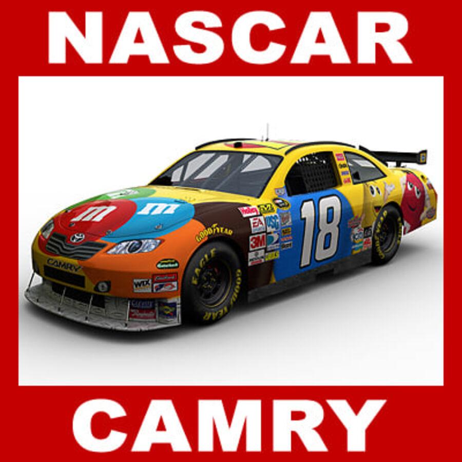 Nascar COT Stock Car - Kyle Busch Camry royalty-free modelo 3d - Preview no. 1