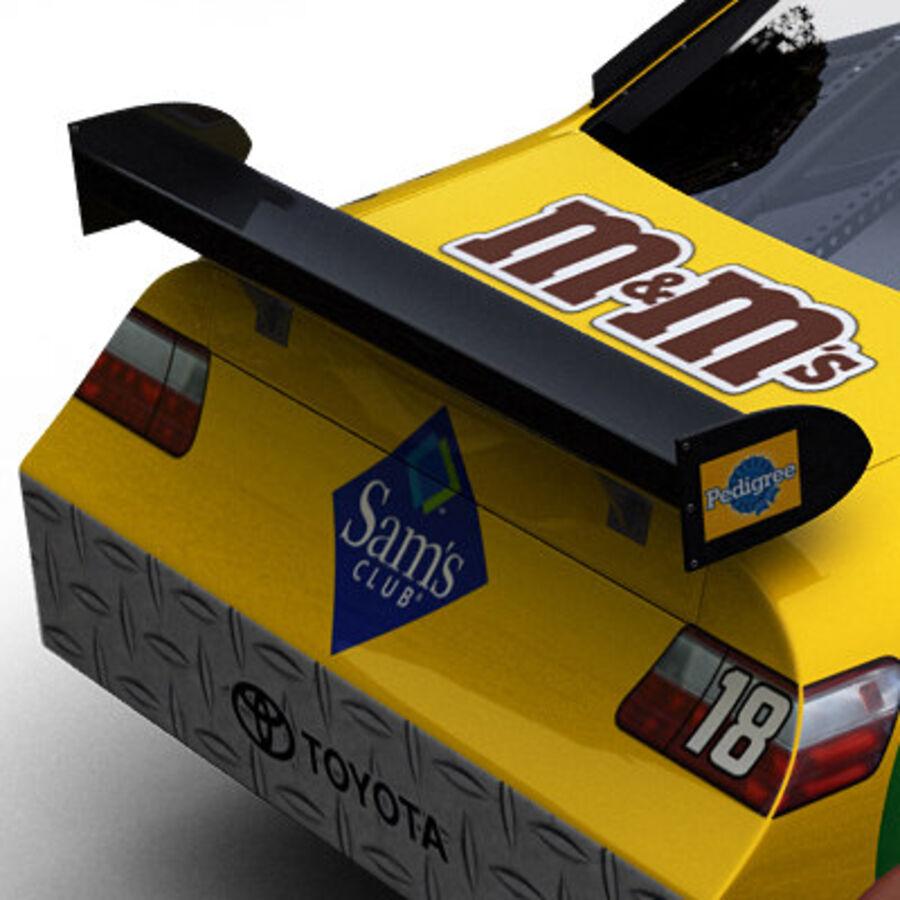 Nascar COT Stock Car - Kyle Busch Camry royalty-free modelo 3d - Preview no. 9