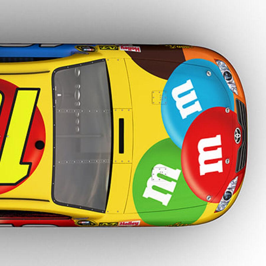 Nascar COT Stock Car - Kyle Busch Camry royalty-free modelo 3d - Preview no. 15