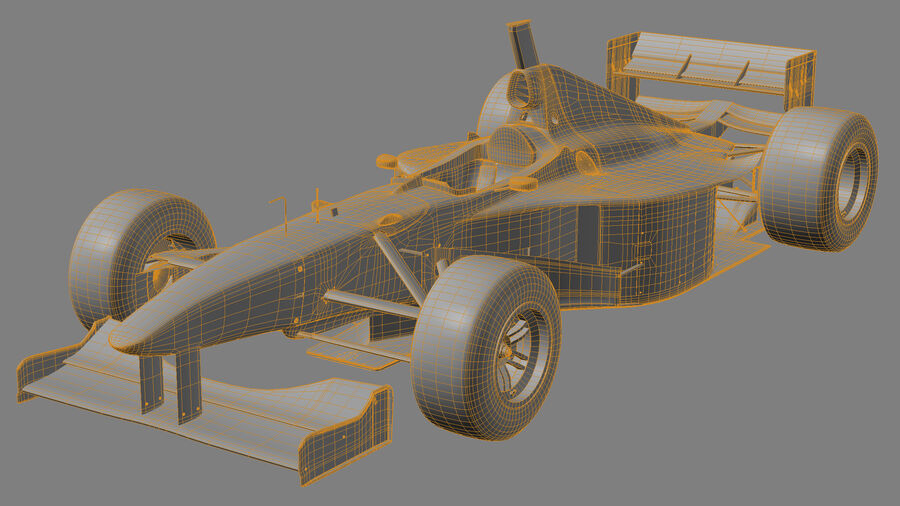 Williams FW19 royalty-free 3d model - Preview no. 22