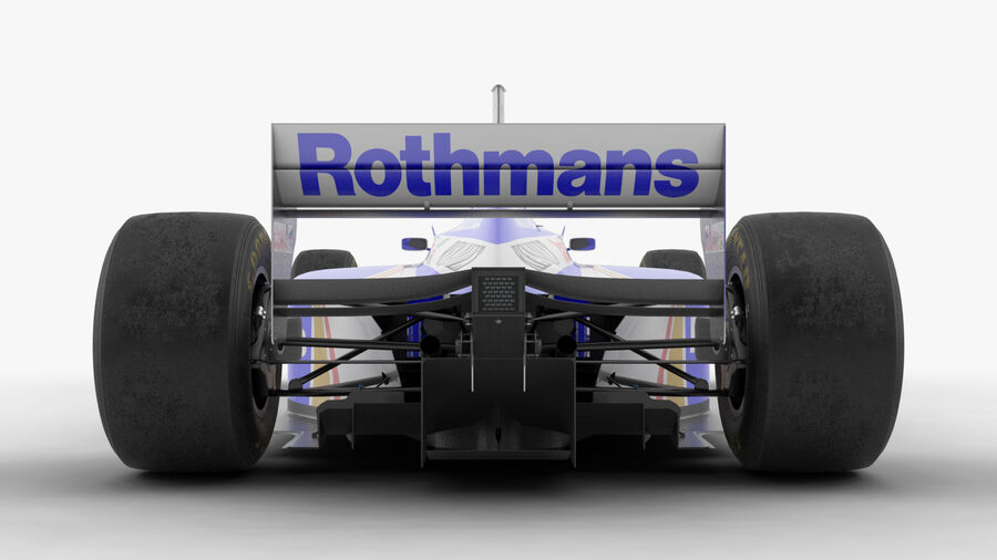 Williams FW19 royalty-free 3d model - Preview no. 15