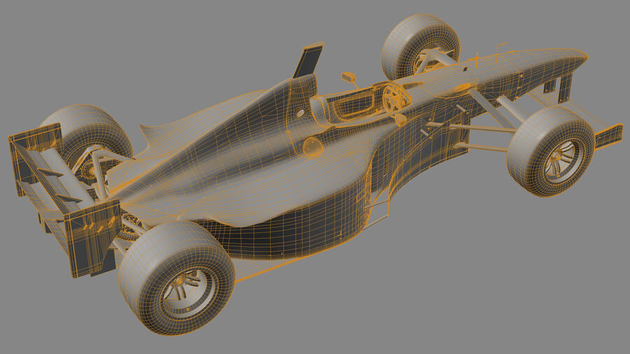 Williams FW19 royalty-free 3d model - Preview no. 23