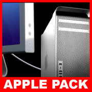 Apple Mac Pro ve Cinema Görüntü Paketi 3d model