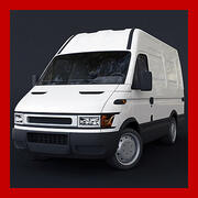 Voiture de livraison 3d model