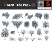 Frozen Tree Pack 22 3d model
