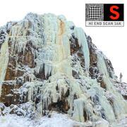 Zjawisko natury Giant Icefall 3d model