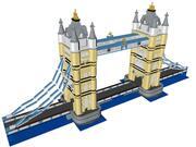 LEGO Tower Bridge (détail élevé) 3d model