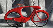 Vintage Ben Bowden Spacelander Fahrrad 3d model