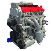 Car Engine 3D Model 3d model
