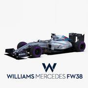 Voiture Williams FW38 3d model