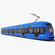 Tram TMK 2200 3d model