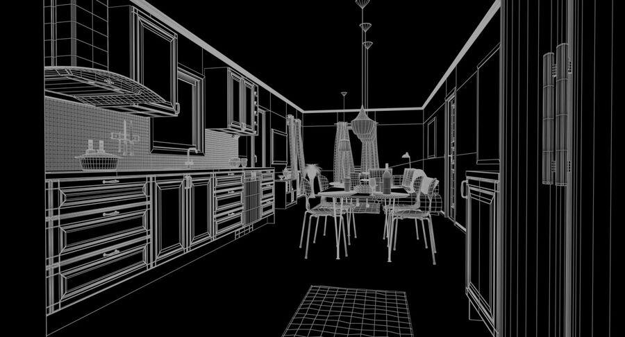 Cozinha # 3 royalty-free 3d model - Preview no. 19