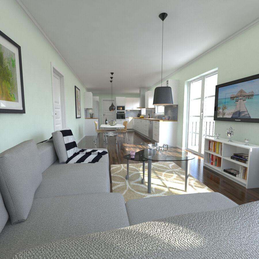Cozinha # 3 royalty-free 3d model - Preview no. 1