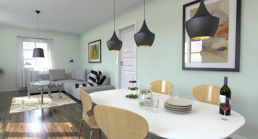 Cozinha # 3 royalty-free 3d model - Preview no. 6