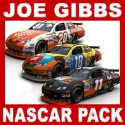 Stock Cars de Nascar COT - Joe Gibbs Racing Pack modelo 3d