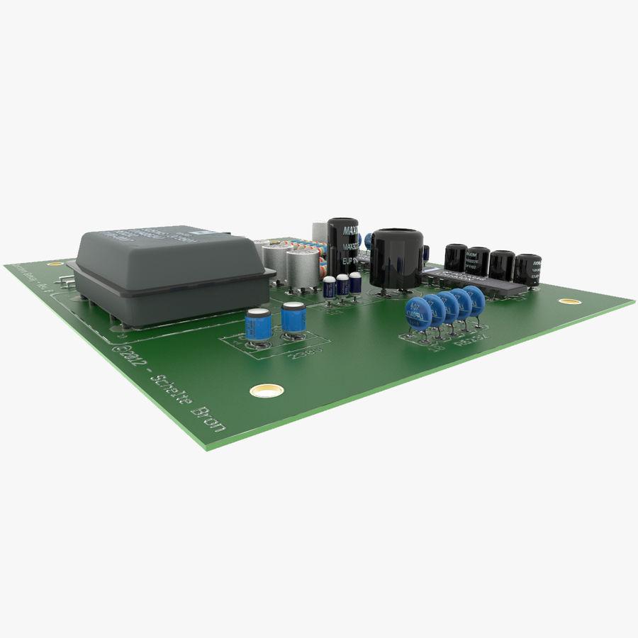 Elektronische Leiterplatte 2 royalty-free 3d model - Preview no. 4