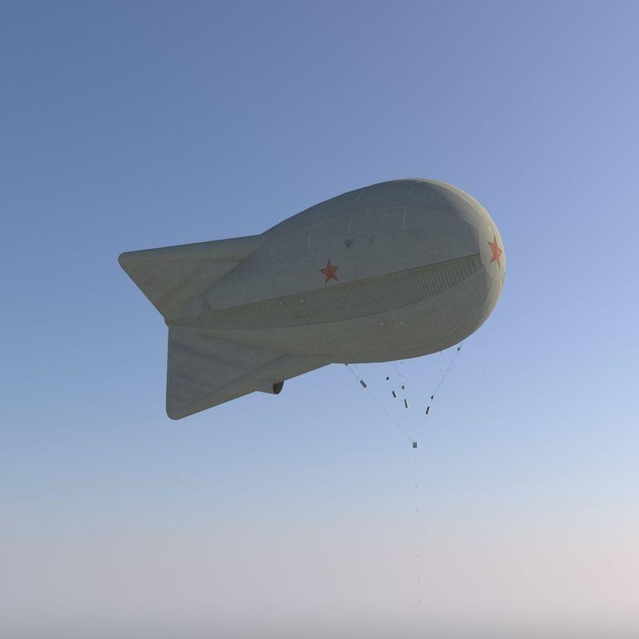 Balloon Ko12 royalty-free 3d model - Preview no. 1