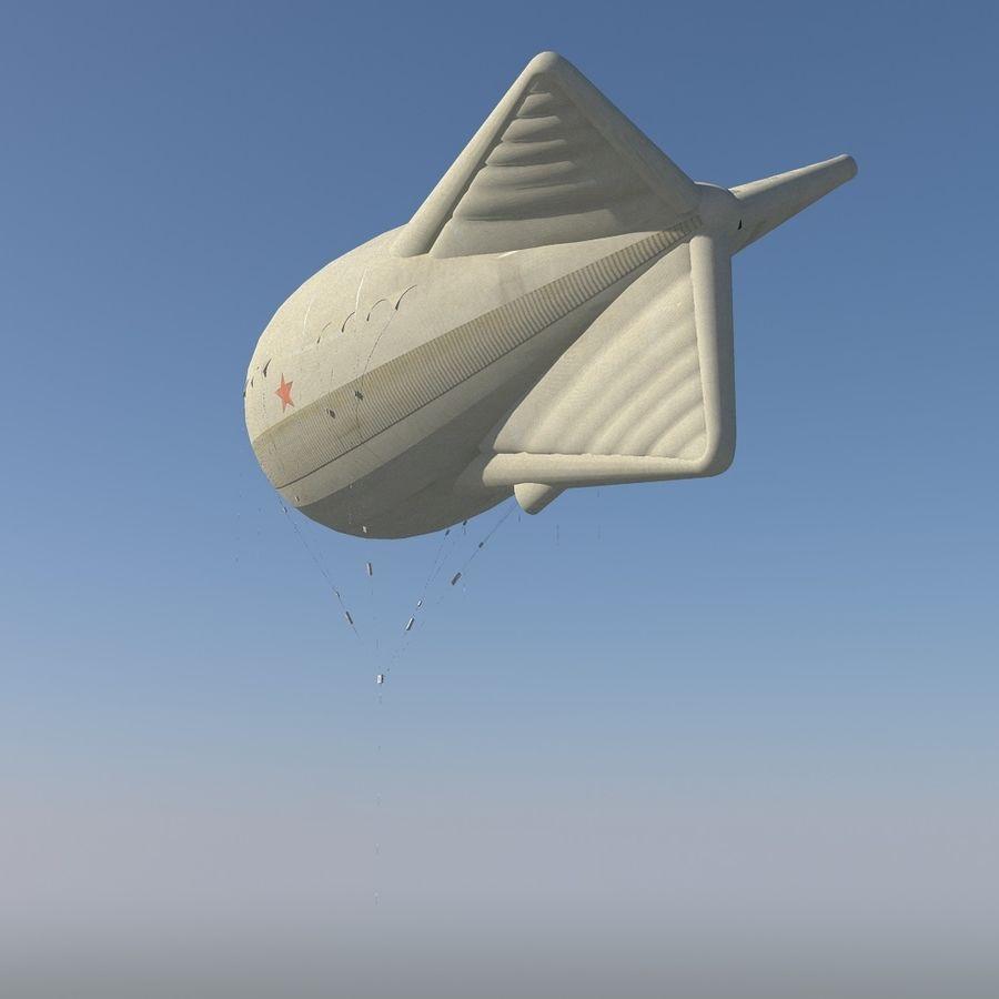 Balloon Ko12 royalty-free 3d model - Preview no. 4