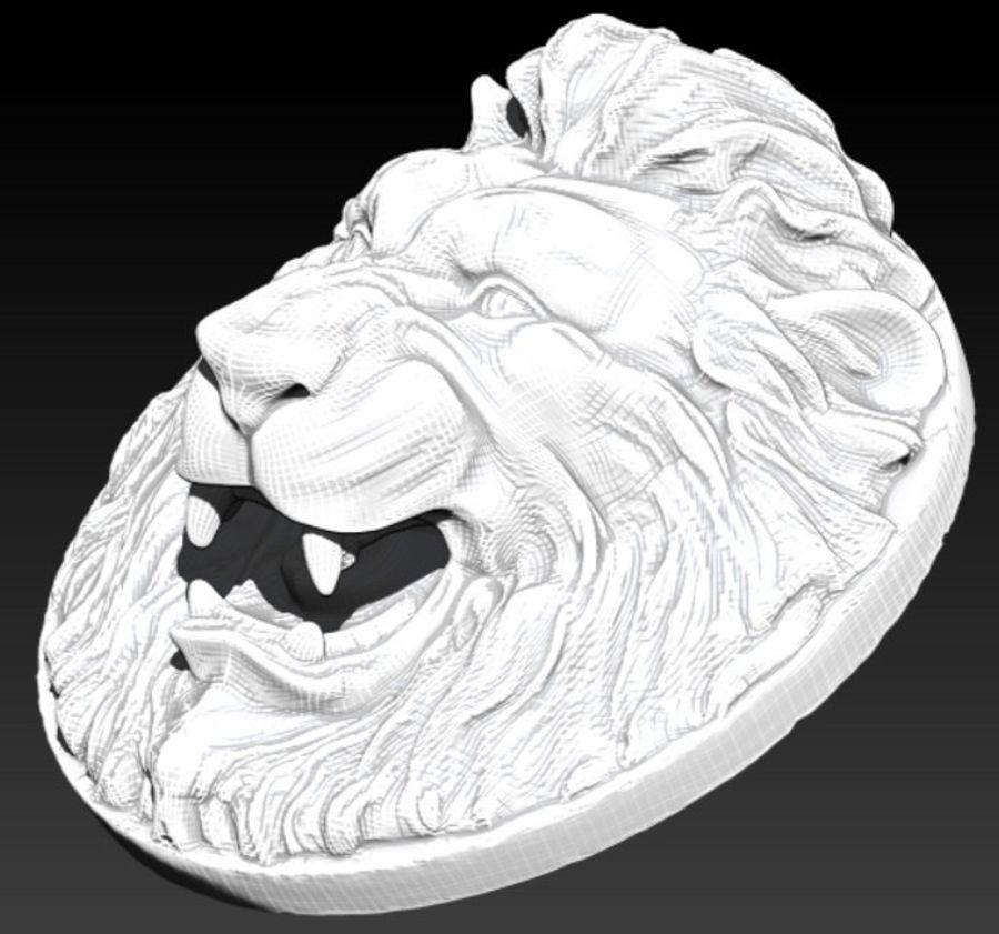 Lion royalty-free 3d model - Preview no. 4