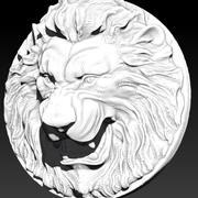 ライオン 3d model