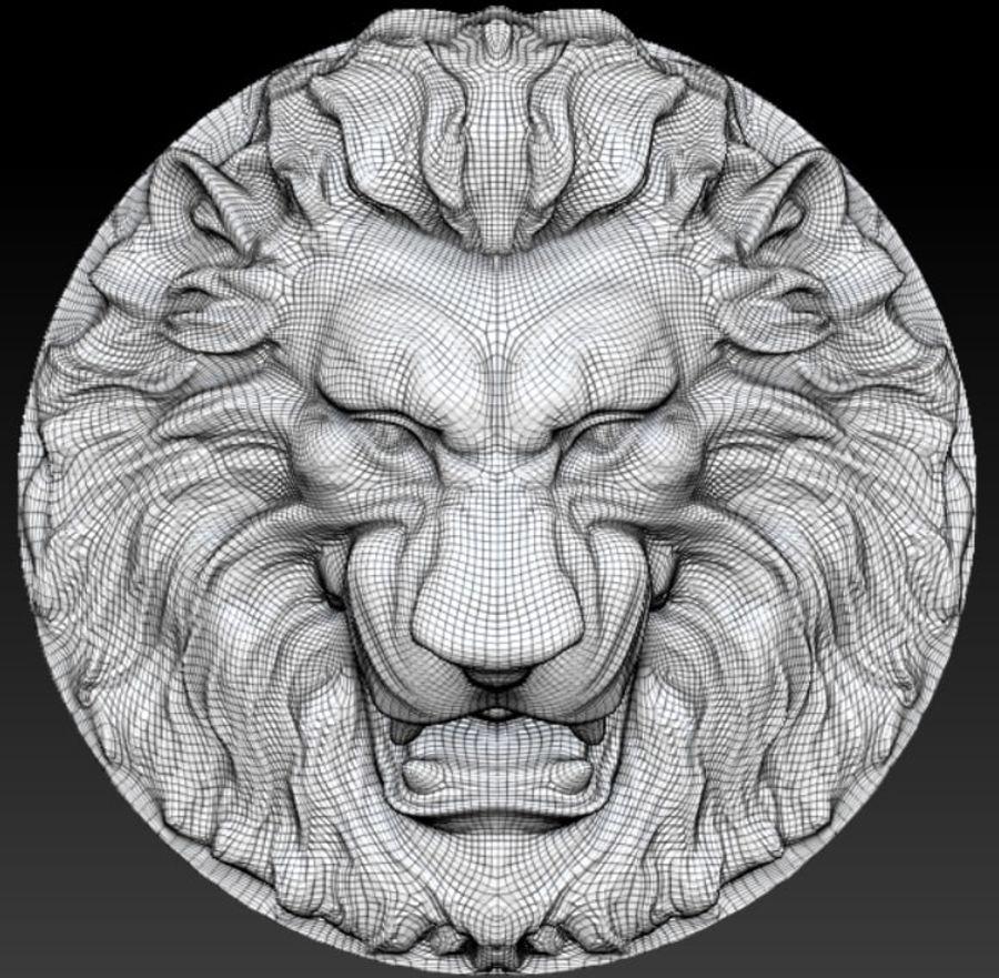 Lion royalty-free 3d model - Preview no. 5
