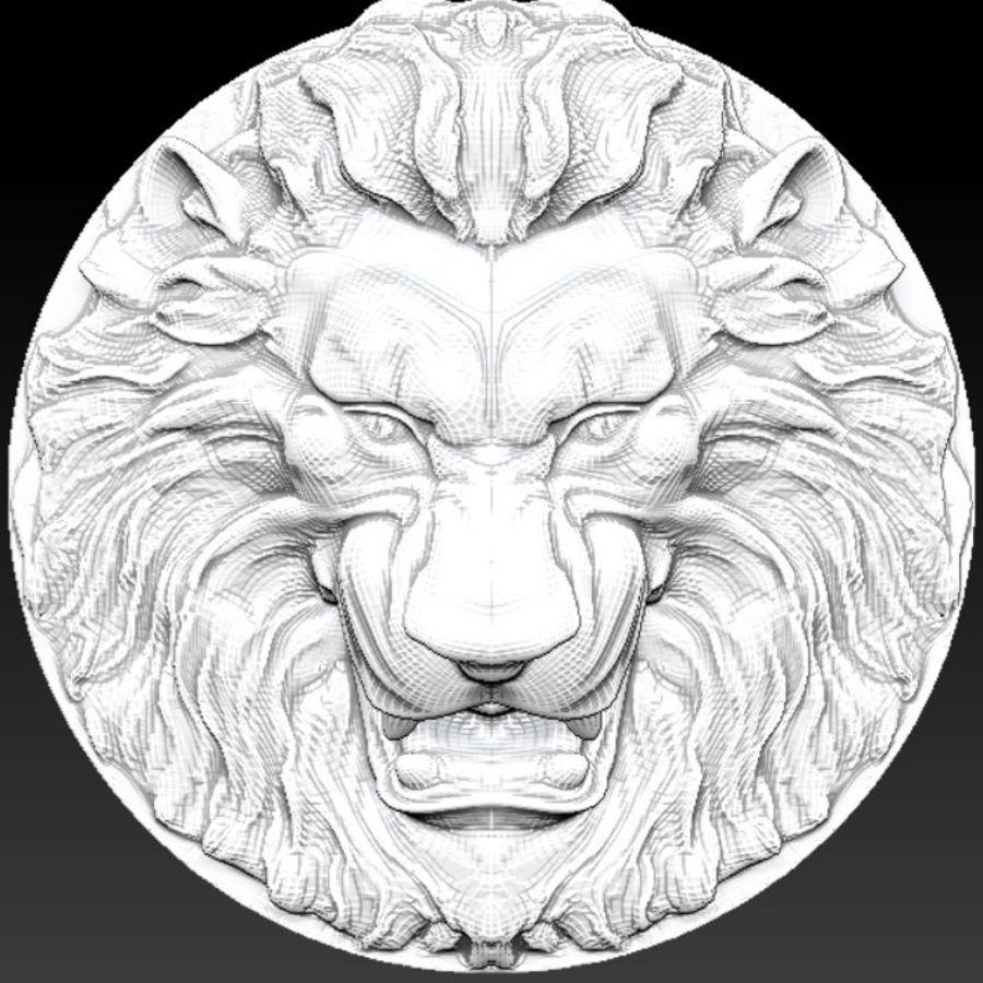 Lion royalty-free 3d model - Preview no. 2