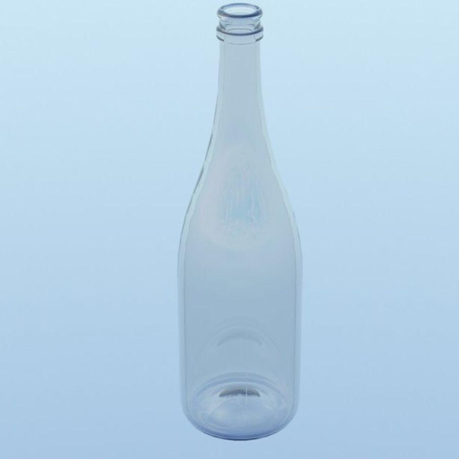 Botella de champagne royalty-free modelo 3d - Preview no. 2