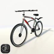 Cykel låg poly 3d model