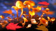 Magic mushrooms 3d model