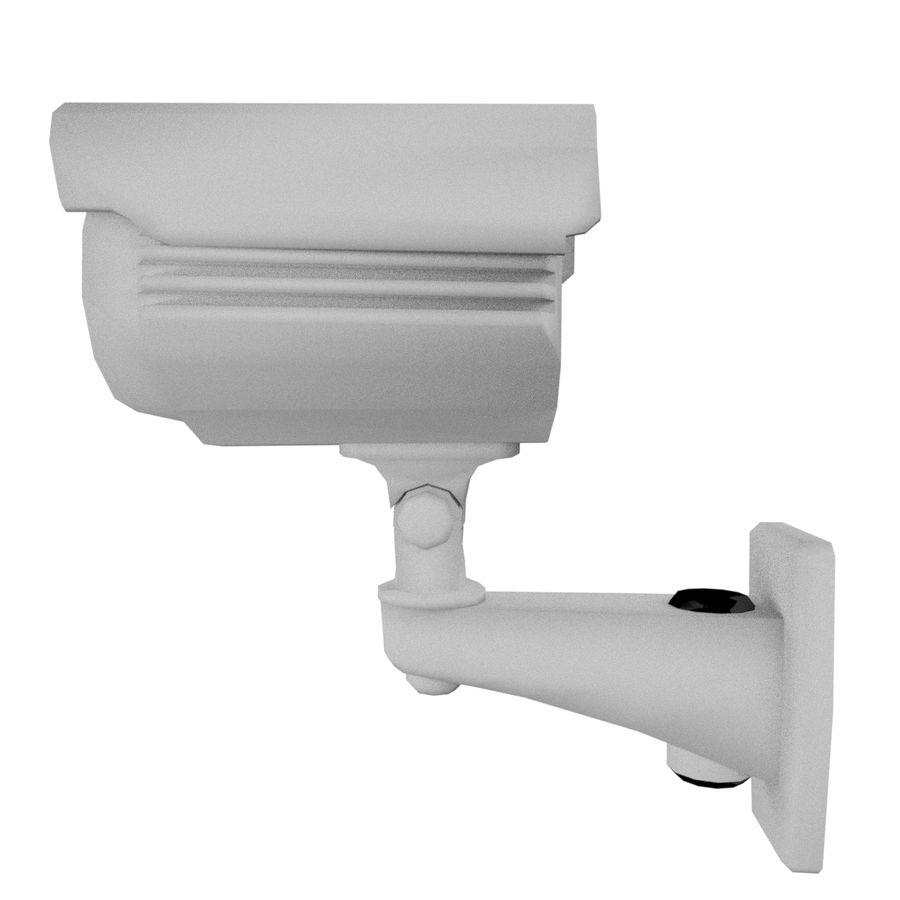 Security Camera royalty-free 3d model - Preview no. 3
