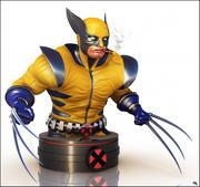 Wolverine Bust, Marvel. 3d model