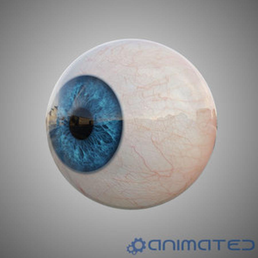 Анимированный человеческий глаз royalty-free 3d model - Preview no. 1