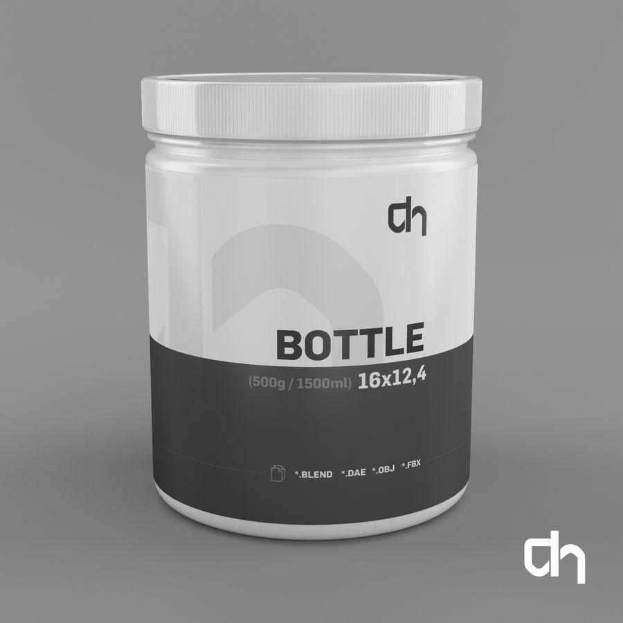 Botella 16x12,4cm (1500ml) royalty-free modelo 3d - Preview no. 1