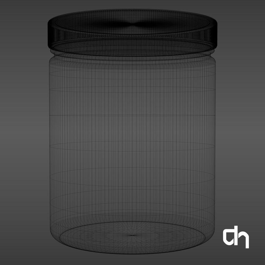 Botella 16x12,4cm (1500ml) royalty-free modelo 3d - Preview no. 7