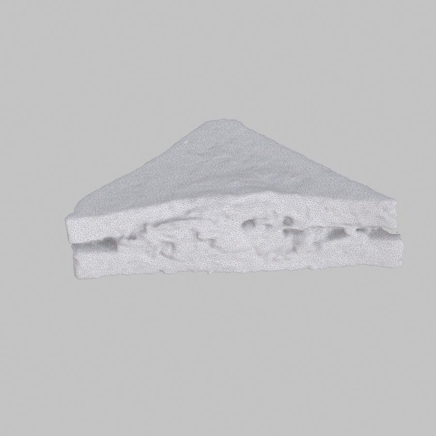 培根三明治 royalty-free 3d model - Preview no. 5