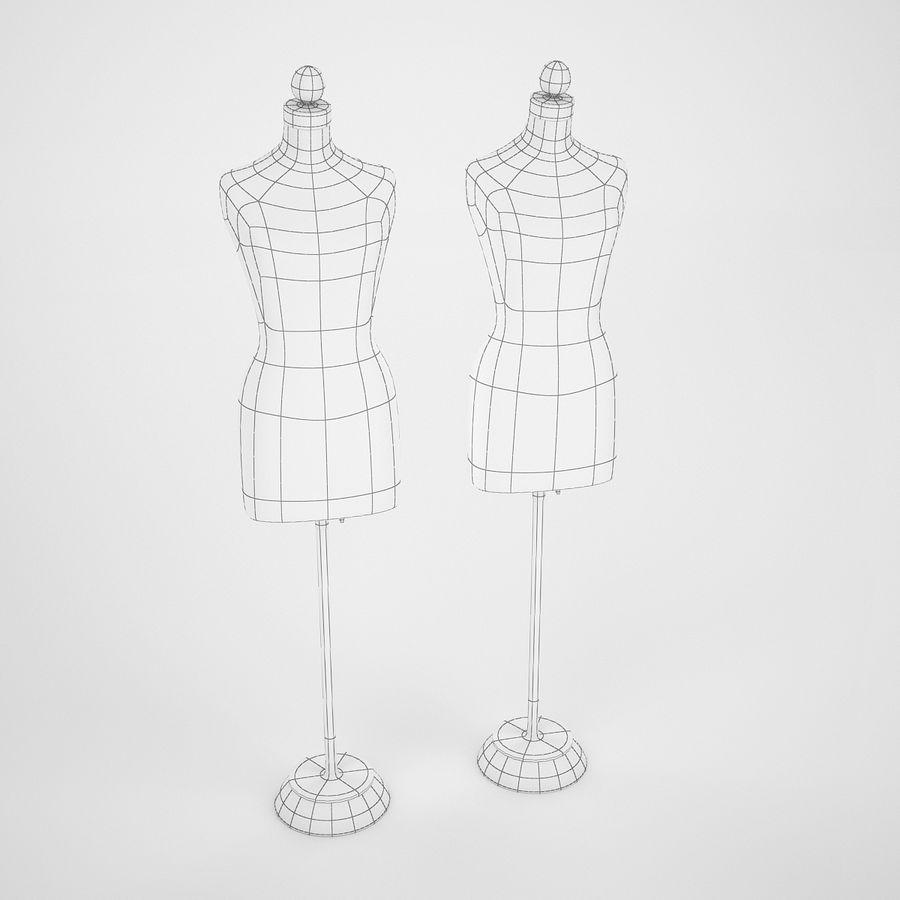 Женские манекены royalty-free 3d model - Preview no. 8
