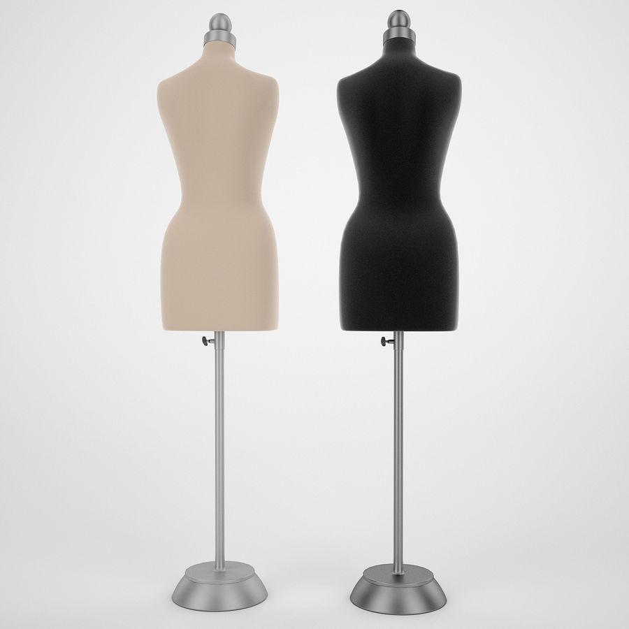 Женские манекены royalty-free 3d model - Preview no. 5