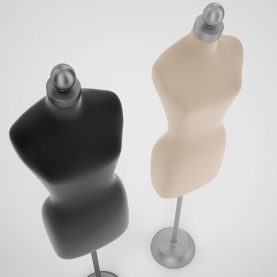 Женские манекены royalty-free 3d model - Preview no. 4
