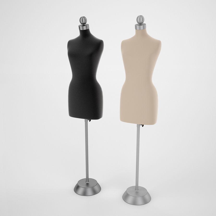 Женские манекены royalty-free 3d model - Preview no. 2