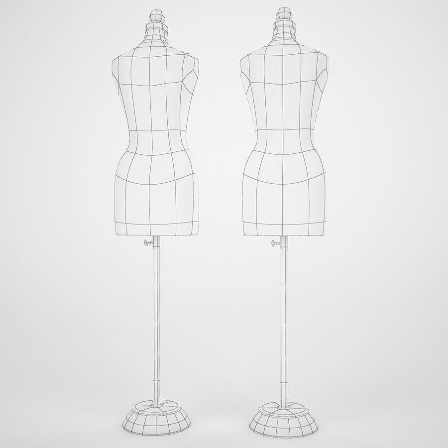 Женские манекены royalty-free 3d model - Preview no. 6