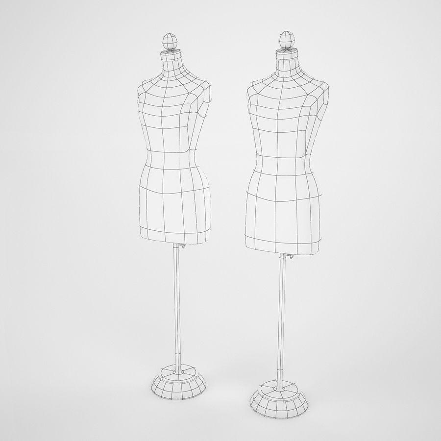 Женские манекены royalty-free 3d model - Preview no. 9