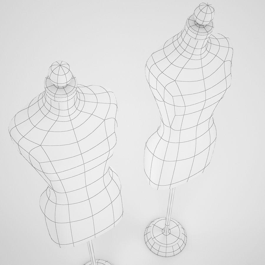 Женские манекены royalty-free 3d model - Preview no. 7