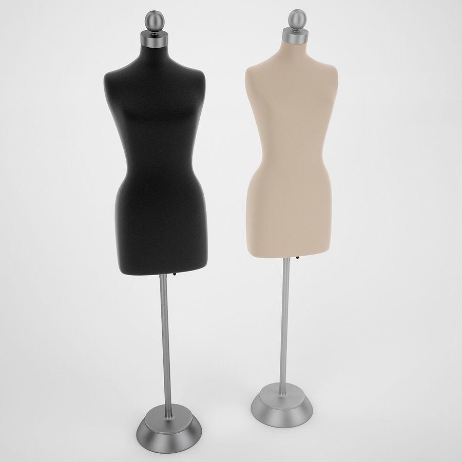 Женские манекены royalty-free 3d model - Preview no. 3